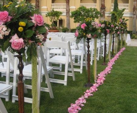 decoración con flores para bodas en quintas en monterrey